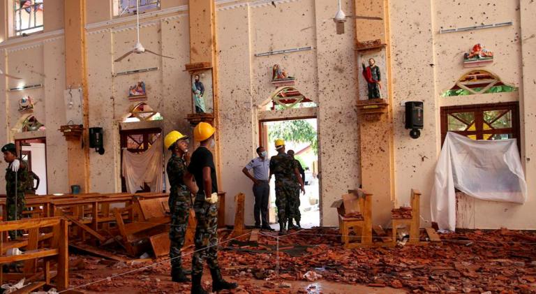 Sri Lanka, almeno 310 morti