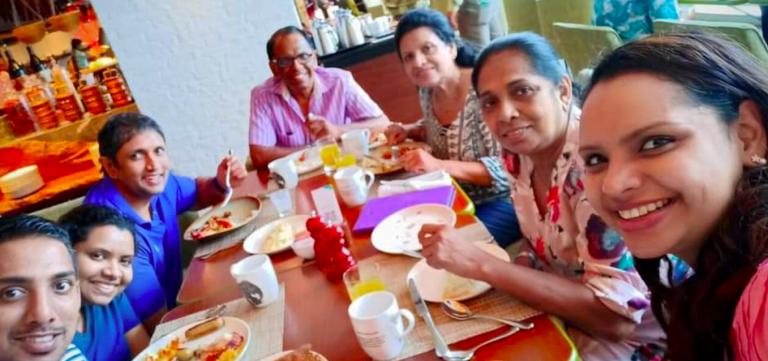 Sri Lanka, ultimo selfie della chef