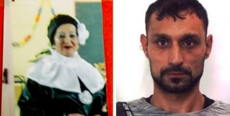 Anziana uccisa in casa, rom espulso