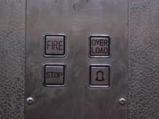 ascensore incidente