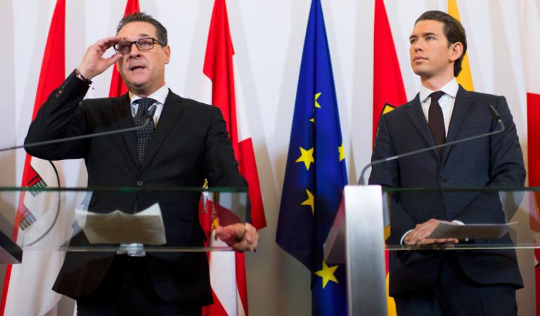 Austria, Strache si dimette