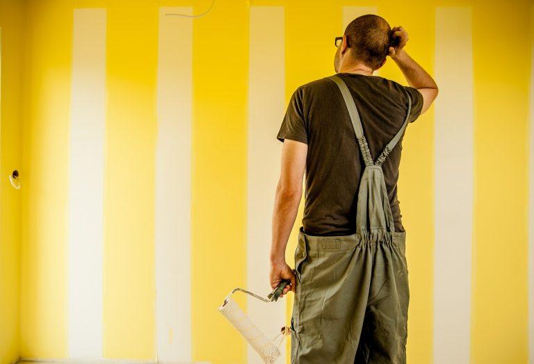 Come pitturare casa facilmente con tecniche fai da te