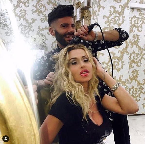 Federico Fashion Style con Valeria Marini