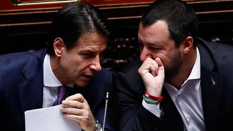 Governo, incontro Conte Salvini