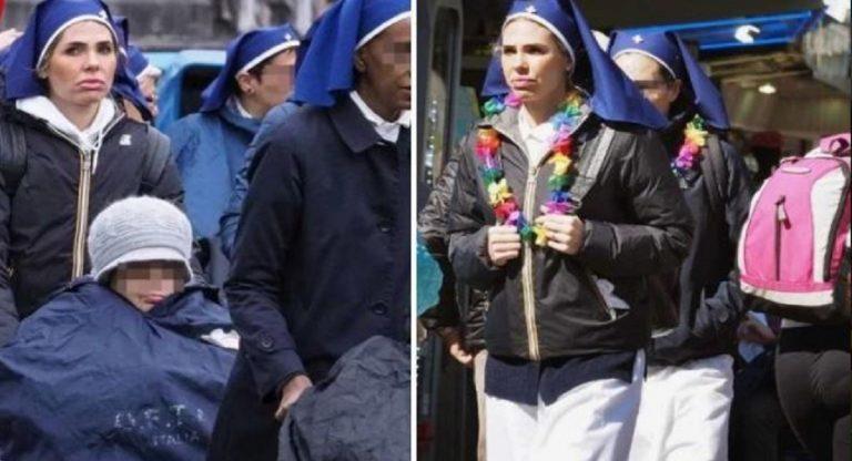 Ilary Blasi Lourdes | La conduttrice suora a Lourdes per aiutare i malati