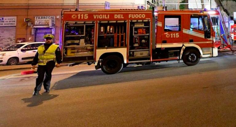 Incendio clinica Pescara