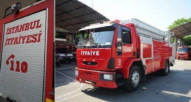 incendio turchia ambulanza