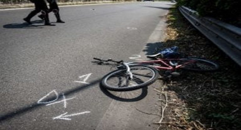 Incidente Bergamo auto ciclista