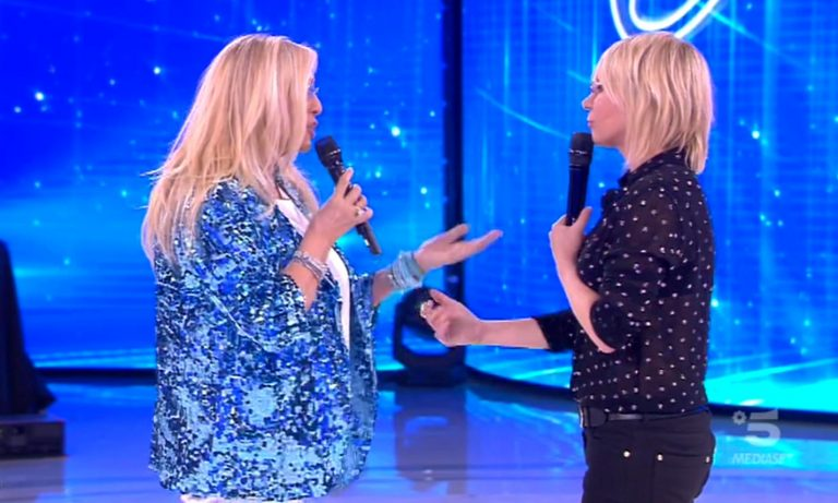 Mara Venier e Maria De Filippi