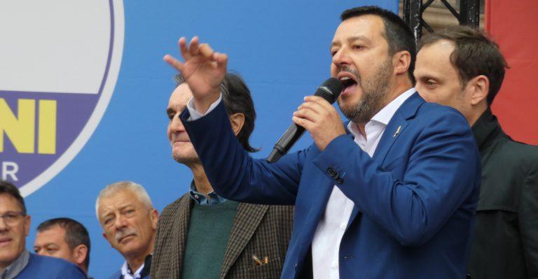 Matteo Salvini e il clima delle balconiadi