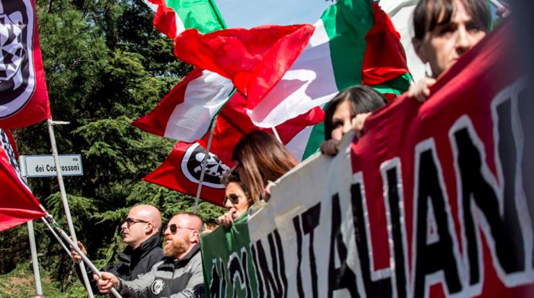 Proteste anti rom, indagati