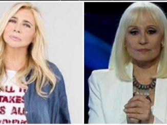 Raffaella Carrà e Mara Venier
