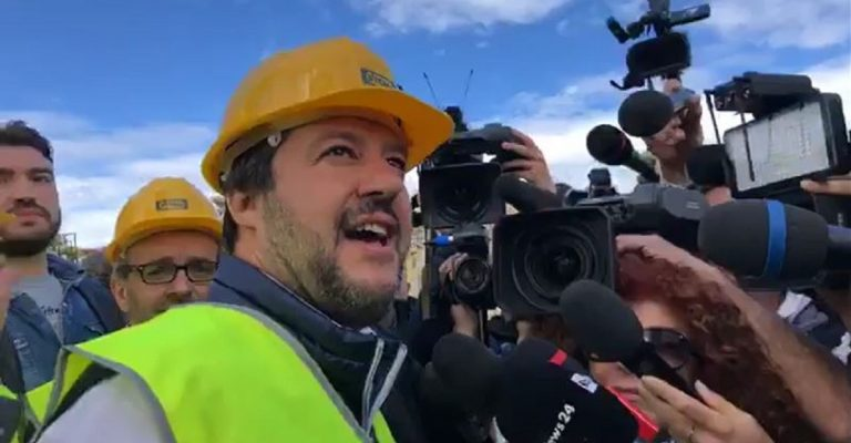 Salvini a Zingonia