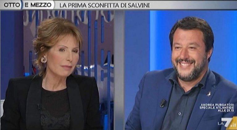Salvini contro Gruber