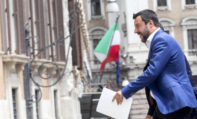 Salvini su Bankitalia e flat tax