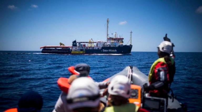Sea Watch a Lampedusa