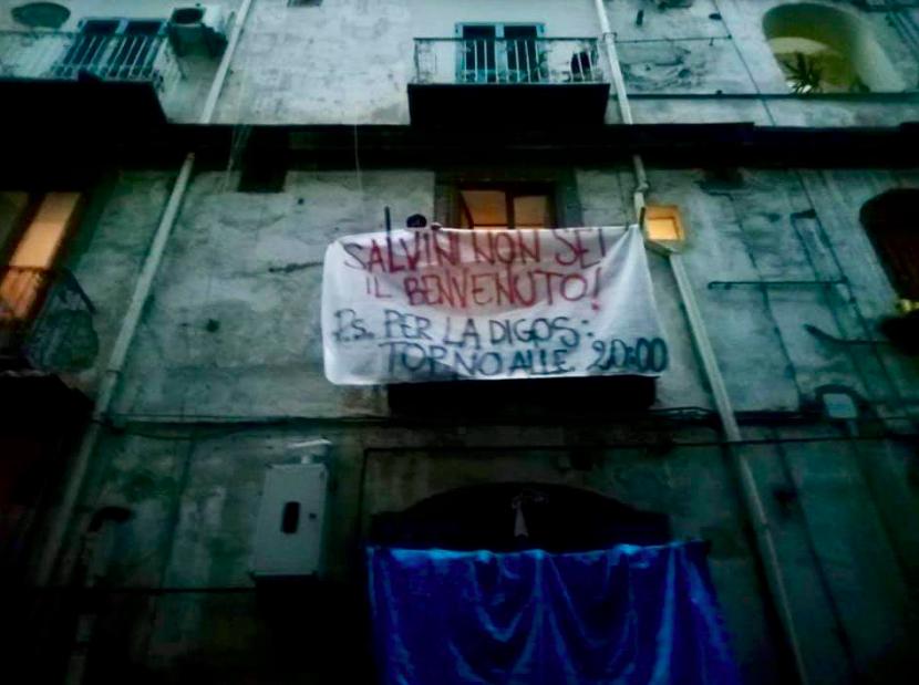 Striscione Napoli