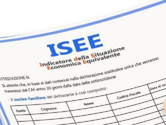 Autocertificazione ISEE