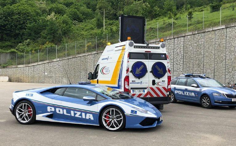 autostrada polizia stradale contromano