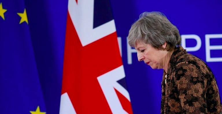 Dimissioni Theresa May