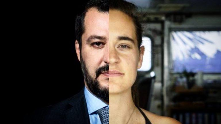 Matteo Salvini, Carola Rackete