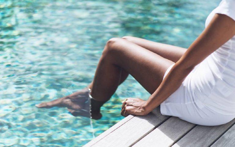 abbronzatura gambe