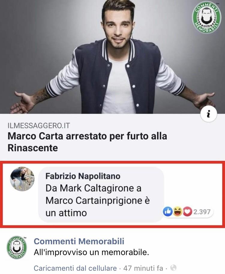 Marco Cartainprigione