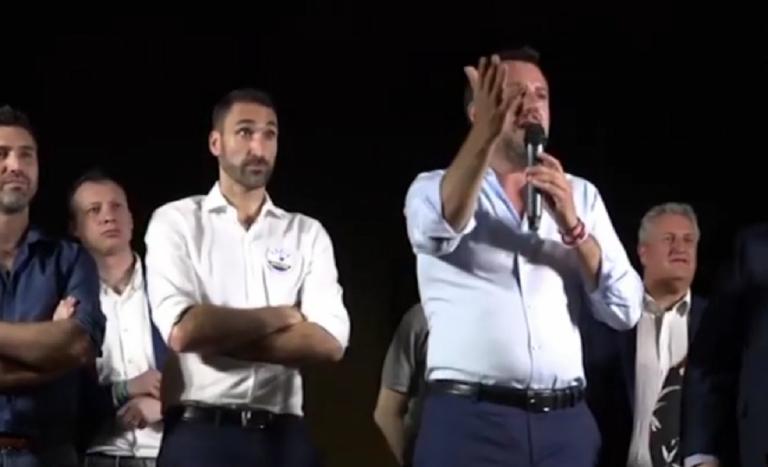 Matteo Salvini aggressione Cremona