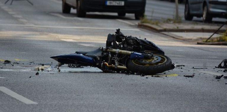 motociclista investito