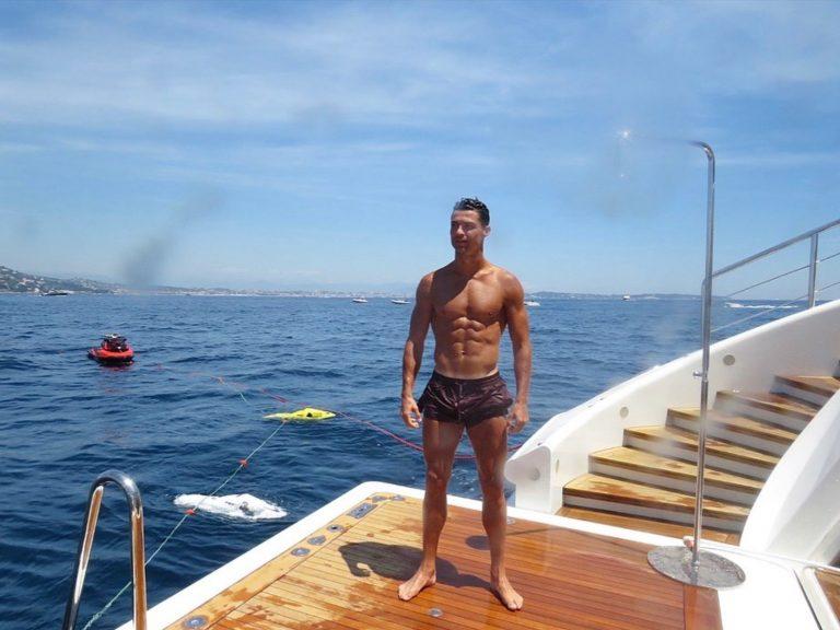ronaldo vacanze