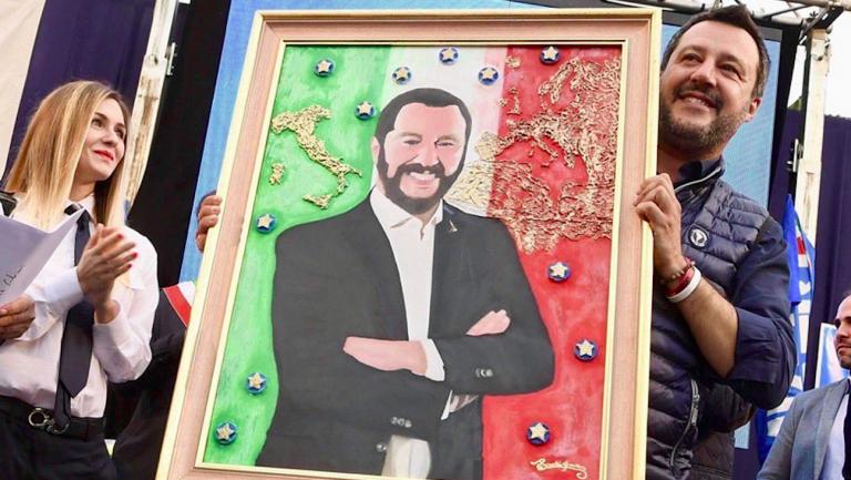 Salvini ad Aversa, giornalista minacciato