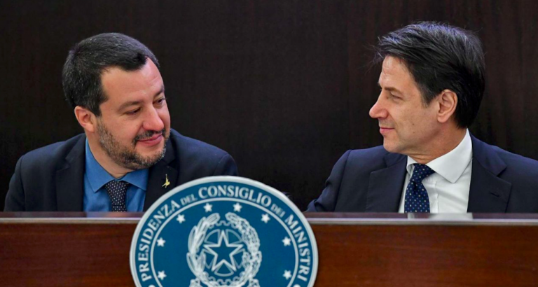 Salvini Conte sostituto Savona