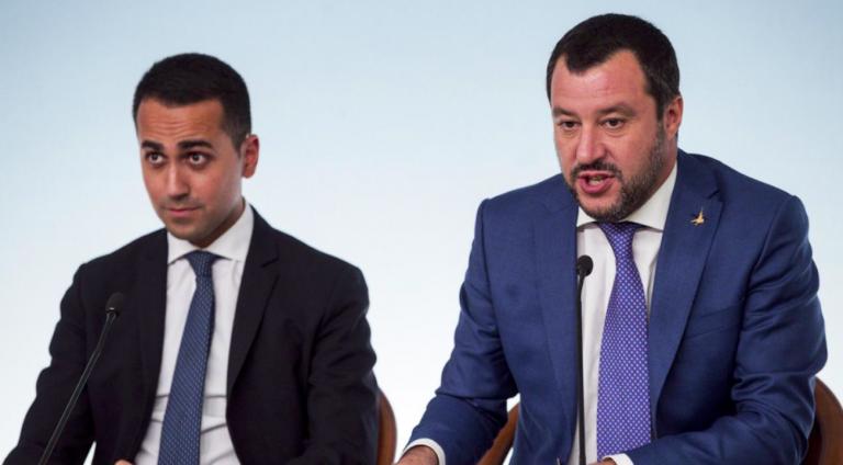 Salvini Di Maio minibot