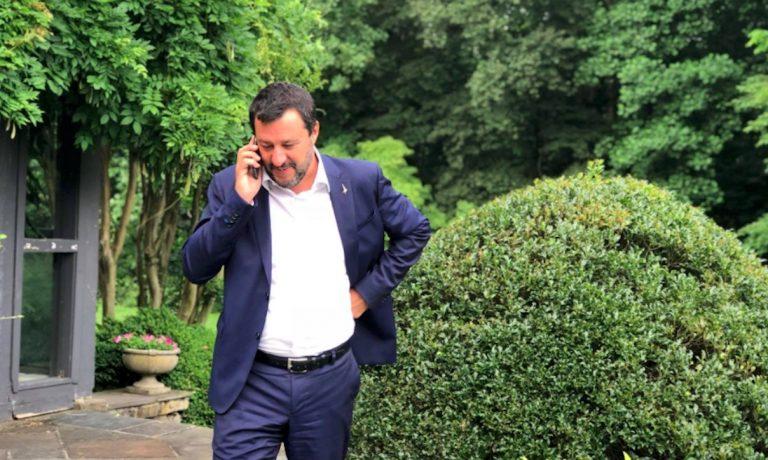 Salvini negli Usa, abbassiamo le tasse