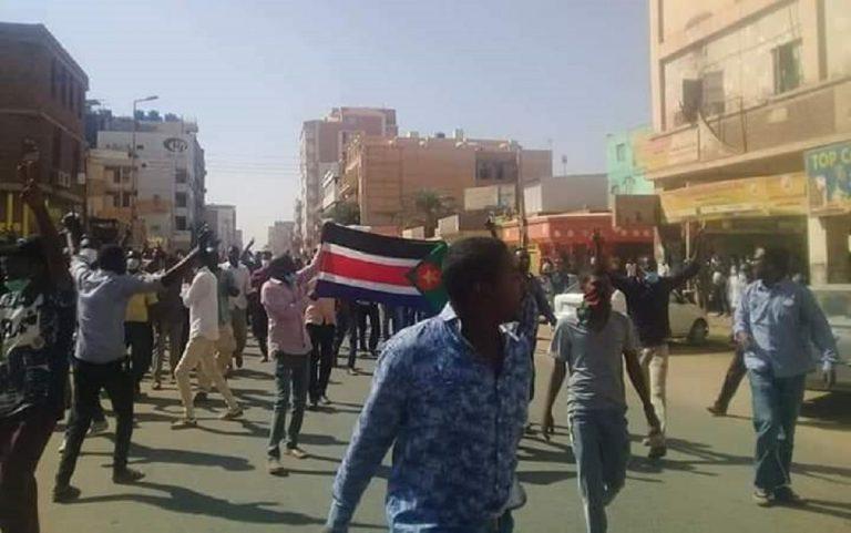 proteste in sudan