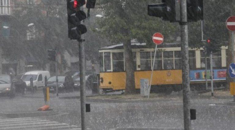 temporale Milano