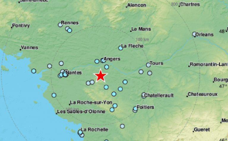 Terremoto 5.2 in Francia