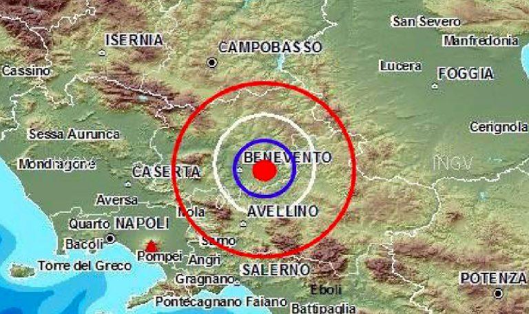 Terremoto Avellino Benevento