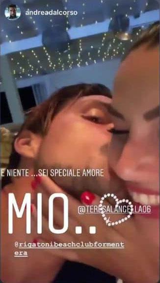 Andrea Dal Corso dedica a Teresa