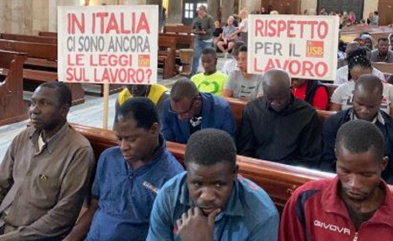 Bari migranti basilica san nicola