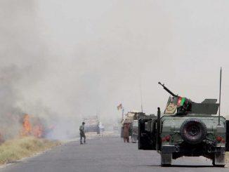 Bus esplode su una mina a Kandahar Afghanistan