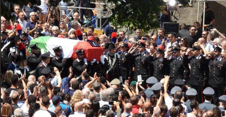 carabiniere ucciso funerali