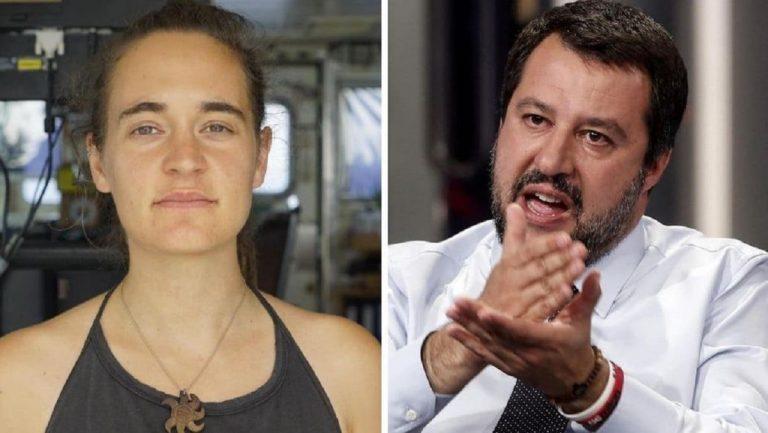 Carola Rackete Salvini espulsione