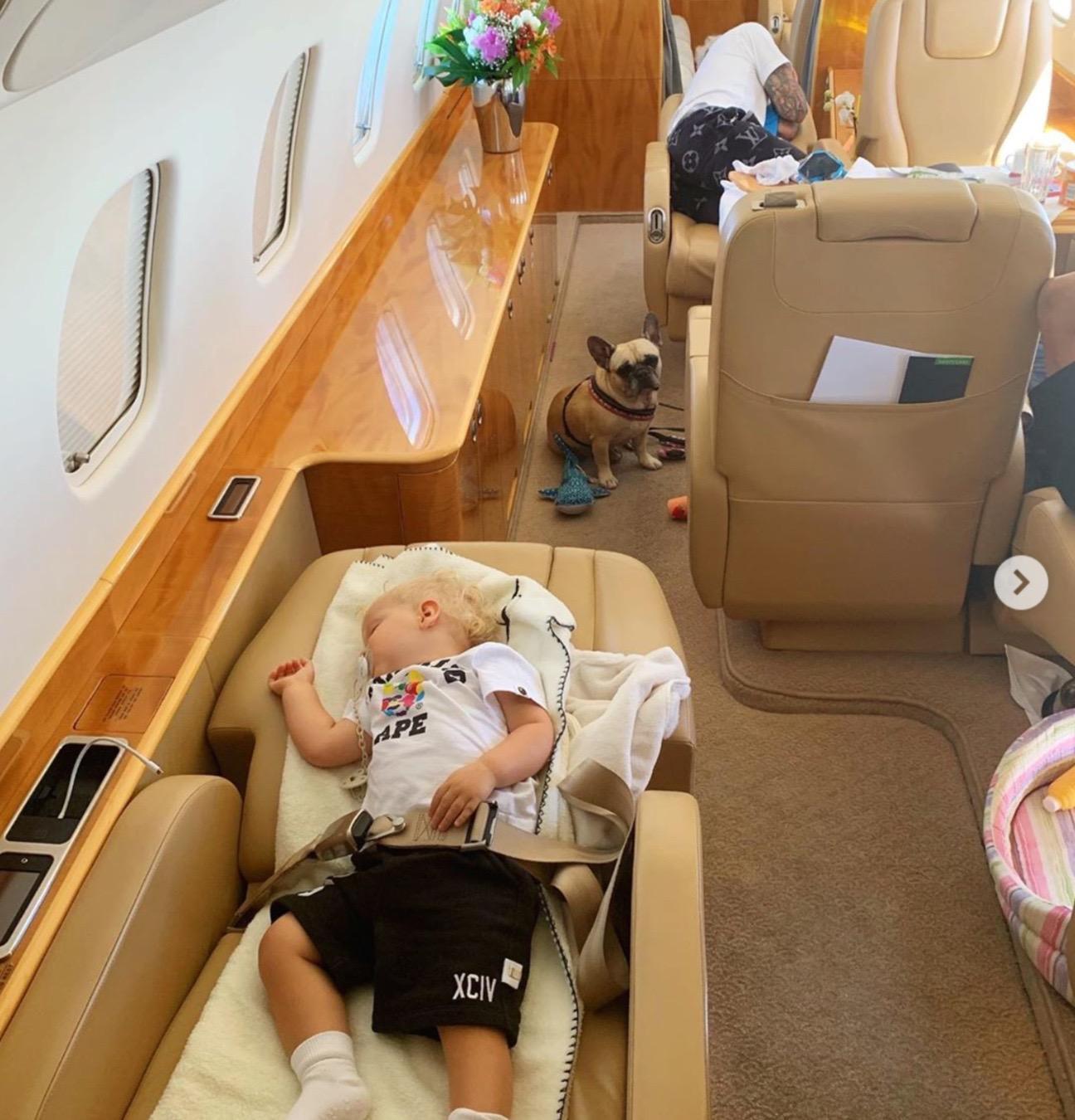 ferragni jet famiglia