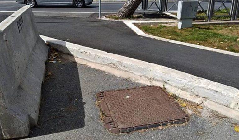 fiumicino disabile incidente