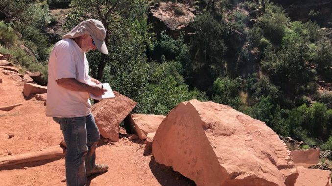 grand canyon impronte