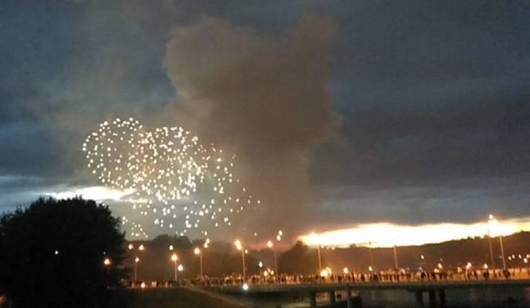 fuochi d'artificio Bielorussia