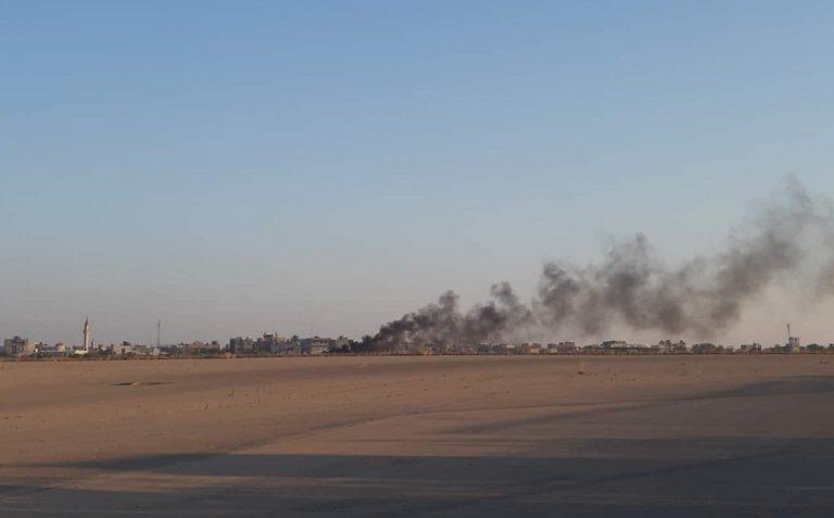 Libia aeroporto Tripoli