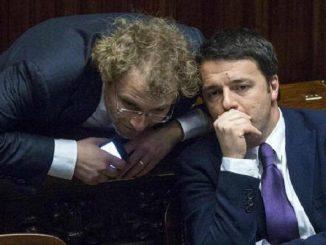 Matteo Renzi Luca Lotti