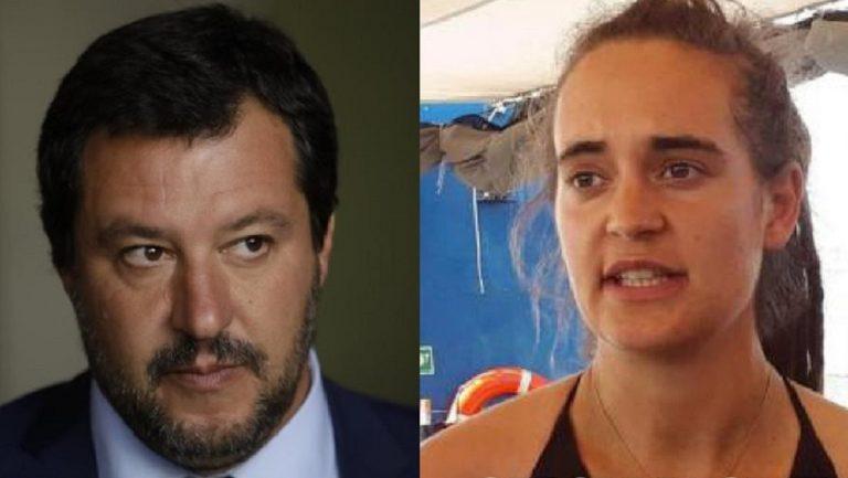 Matteo Salvini Carola Rackete denuncia